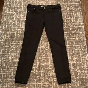 Black Zara stretch jeans